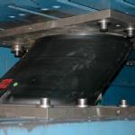 Esempio di prova su dispositivo elastomerico